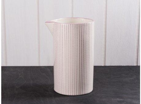 IB Laursen Kanne Casablanca lila groß für 1,0 Liter Keramik Kollektion Saft Karaffe