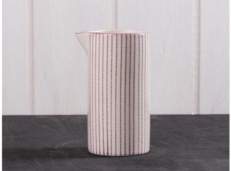 IB Laursen Kanne Casablanca lila klein für 0,2 Liter Keramik Kollektion Milchkännchen