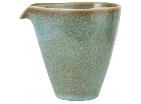 IB Laursen Kanne mit Tülle Mini DUNES Blau LIGHT BLUE Keramik Milchkännchen IB Geschirr Produkt Nummer 2453-26