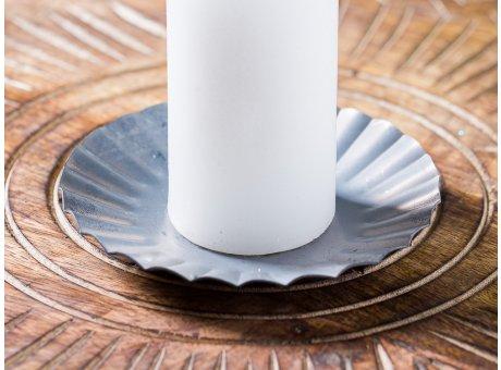IB Laursen Kerzenteller klein aus Metall 11cm Weihnachten und Winter Geschenkidee Kerzentablett Weihnachstdeko Dekoration Advent Detail