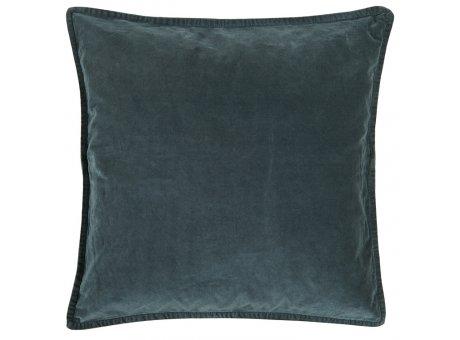 IB Laursen Kissen Samt Velour Blau Dunkel Kissenbezug 50x50 IB Produkt Nr 6230-69