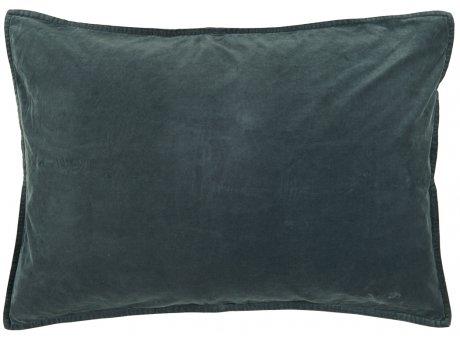 IB Laursen Kissen Samt Velour Blau Dunkel Kissenbezug 50x70 Zierkissen IB Produkt Nr 6229-69