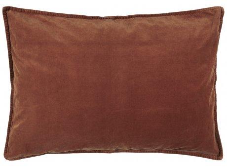 IB Laursen Kissen Samt Velour Rost Rot Kissenbezug 50x70 Zierkissen IB Produkt Nr 6229-70
