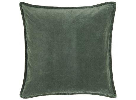 IB Laursen Kissen Samt Velour Staubig Petrol Kissenbezug 50x50 IB Produkt Nr 6230-60