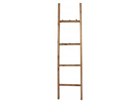 IB Laursen LEITER mit 12 HAKEN Holz Handtuchhalter 150 cm Hakenleiste Holzleiter IB Laursen Artikel 31005-00
