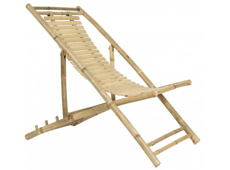 IB Laursen Liegestuhl Bambus klappbar Garten Liege IB Laursen Stuhl Nr 2294-00