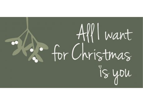 IB Laursen Magnet All I want for Christmas is you