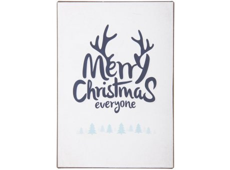 IB Laursen Metallschild Merry Christmas everyone