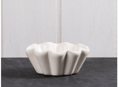 IB Laursen Muffinschale creme weiß Mynte Keramik Kollektion Butter Cream Muffinform