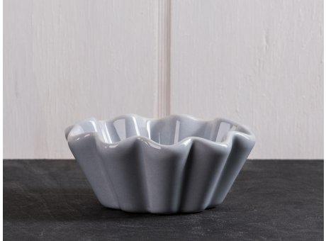 IB Laursen Muffinschale grau Mynte Keramik Kollektion French Grey Backform