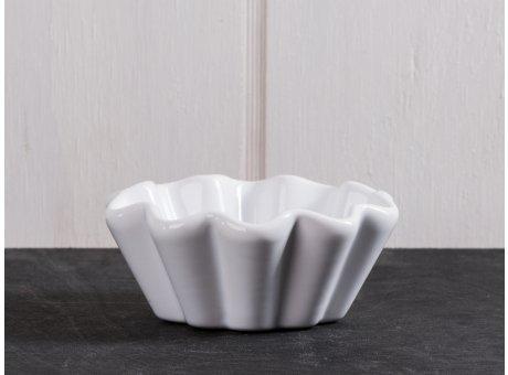 IB Laursen Muffinschale weiß Mynte Keramik Kollektion Pure White Backform