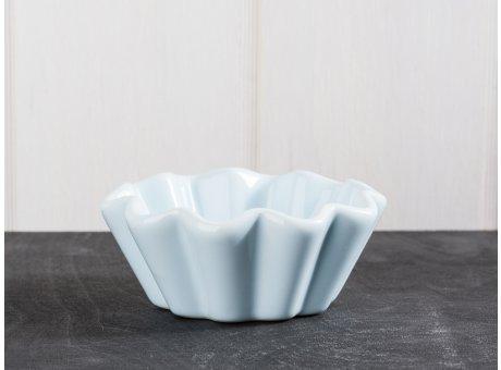 IB Laursen Mynte Geschirr Stillwater Muffinschale hellblau Backform aus Keramik blau