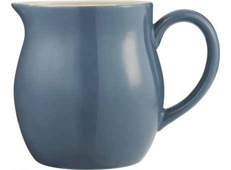 IB Laursen Mynte Kanne Cornflower Blau Keramik Geschirr großer Krug Dunkelblau Karaffe 2,5 Liter IB Laursen Produkt Nr 2095-09