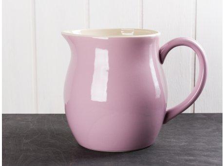 IB Laursen Mynte Kanne Lavendel Lila Keramik Geschirr großer Wasserkrug Serie Lavender Karaffe 2,5 Liter