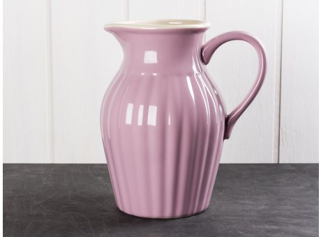 IB Laursen Mynte Kanne Lavendel Lila Keramik Geschirr Serie Lavender Karaffe 1,7 Liter