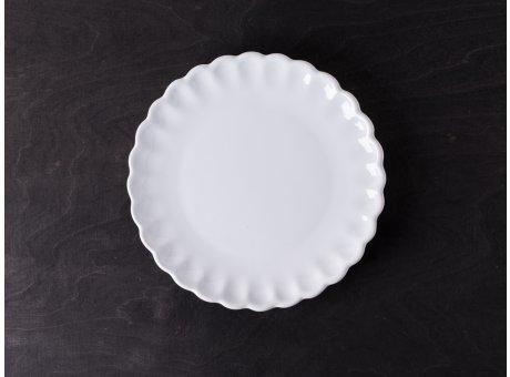 IB Laursen Mynte Kuchenteller weiß Pure White