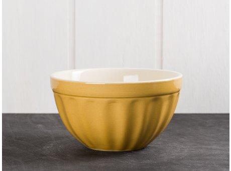 IB Laursen Mynte Müslischale Gelb Senfgelb Keramik Geschirr Serie Mustard 400 ml