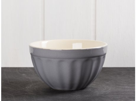 IB Laursen Mynte Müslischale Granit Grau Keramik Geschirr Serie Granite 400 ml