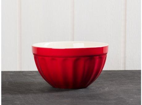 IB Laursen Mynte Müslischale rot Keramik Geschirr Serie Strawberry