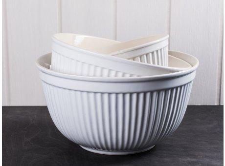 IB Laursen Mynte Schalensatz 3er Set Schüsseln weiß Pure White