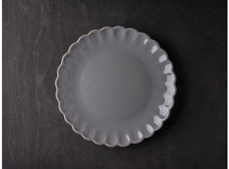 IB Laursen Mynte Teller Granit Grau Keramik Geschirr Serie Granite Kuchenteller