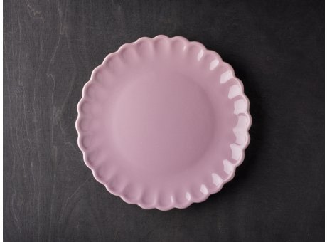 IB Laursen Mynte Teller Lavendel Lila Keramik Geschirr Serie Lavender Kuchenteller