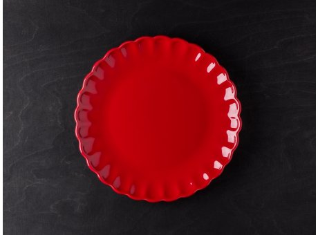 IB Laursen Mynte Teller rot Keramik Geschirr Serie Strawberry Kuchenteller