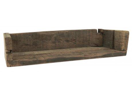 IB Laursen Regal Unika mit Kante aus Holz Unikat Länge 45 cm groß