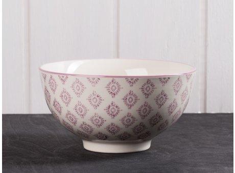 IB Laursen Schale Casablanca lila groß Keramik Kollektion Müslischale