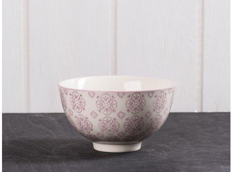 IB Laursen Schale Casablanca lila klein Keramik Kollektion Müslischale