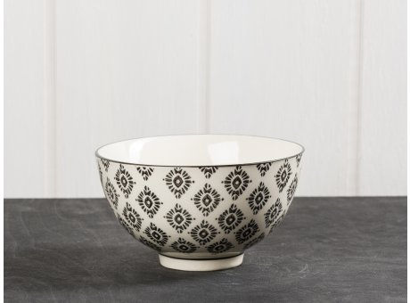 IB Laursen Schale Casablanca schwarz klein Keramik Kollektion Müslischale