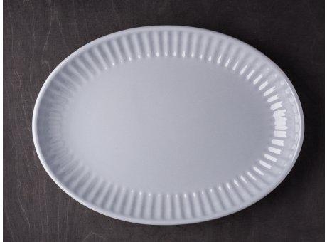 IB Laursen Servierschale Mynte grau 30 cm Keramik Geschirr Schüssel Serie French Grey