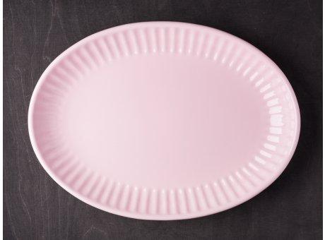 IB Laursen Servierschale Mynte pastell rosa 30 cm Keramik Geschirr Schüssel Serie English Rose
