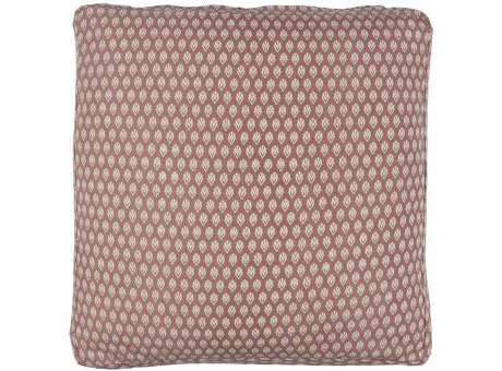 IB Laursen Sitzkissen Bezug Box Kissen 45x45x3 cm Faded Rose Rosa gemustert IB Laursen Kissenhülle Nr 66041-37