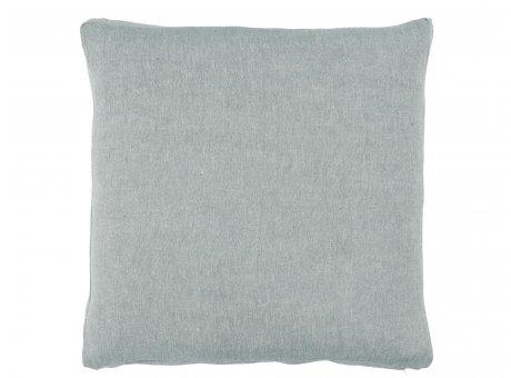 IB Laursen Sitzkissen Bezug Hellblau aus Baumwolle Boxkissenbezug Blau Nr 66010-26