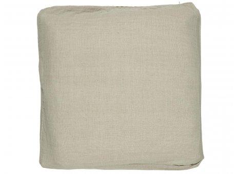 IB Laursen Sitzkissen Bezug Natur aus Baumwolle Boxkissenbezug Beige Nr 66010-30