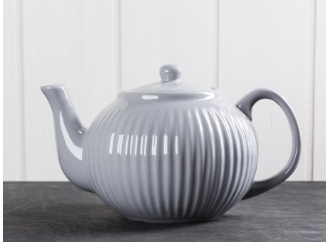IB Laursen Teekanne Mynte grau Keramik Geschirr Serie French Grey