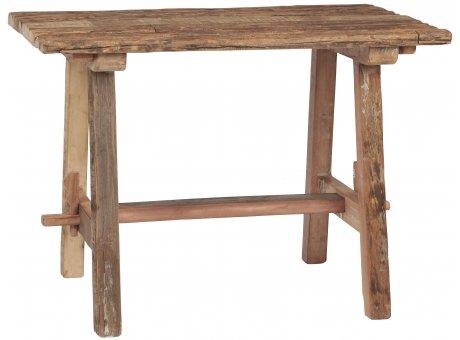 IB Laursen Tisch Unika aus Holz stabiles Möbel Unikat schwer Esstisch Küchentisch 60x100 cm IB Laursen Model 2360