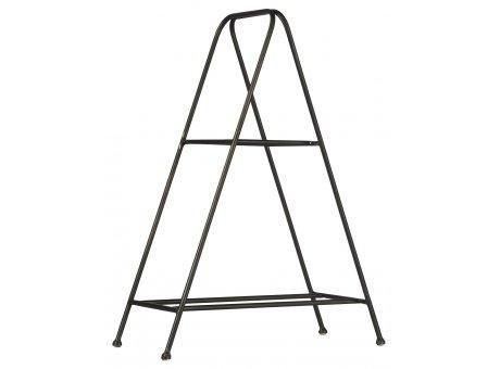 IB Laursen Tischständer für 2 Ziegelformen schwarz aus Metall Etagere IB Laursen Regal Nr 31084-25