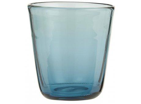 IB Laursen Trinkglas Blau Wasserglas 180 ml spülmaschinenfest IB Laursen Glas Nr 0396-13