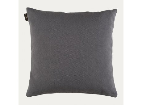 Linum Kissen Pepper Granitgrau Baumwolle Kissenbezug 60x60 Dunkel Grau Linum Design Nr 23pep06000g19