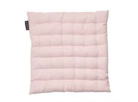 Linum Sitzkissen Pepper Rosa aus Baumwolle mit Füllung Stuhlkissen Größe 40x40x3 Linum Design