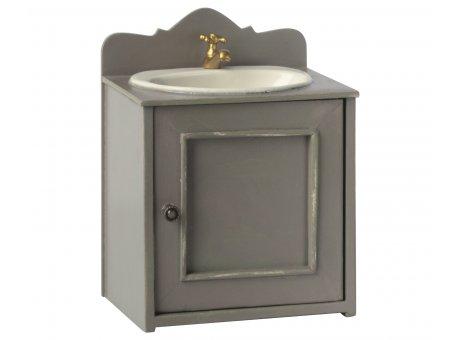 Maileg Badezimmer Waschtisch mit Waschbecken und Wasserhahn in Gold Maileg Nr 11-0115-00