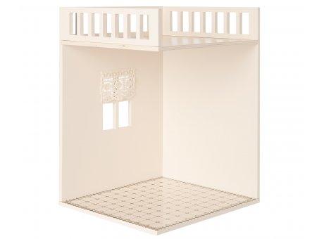 Maileg Badzimmer Extra Raum für Dollhouse mit Balkon Maileg Nr 11-9003-02