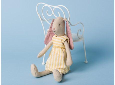 Maileg Hase Mini Light Bunny Aya Kleid gelb Schlappohren