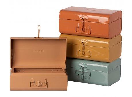 Maileg Koffer Set 4 Stück aus Metall Klein Maileg Aufbewahrungsbox Nr 19-1531-00