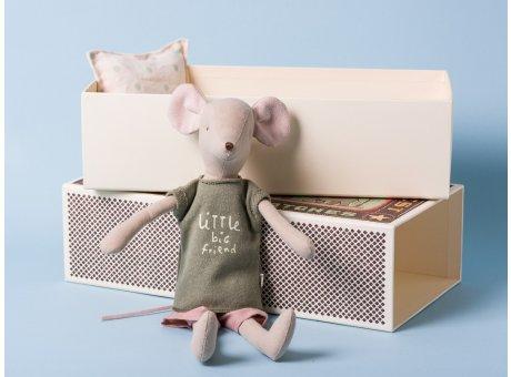 Maileg Maus Medium Boy My little big Friend Maus Junge in Box 34 cm groß