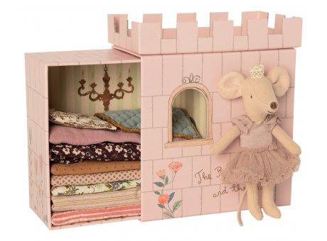 Maileg Maus Prinzessin auf der Erbse Rosa Maileg Nr 16-0738-01