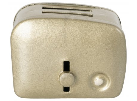 Maileg Mini Toaster & Brot Küchenhelfer Maus Hase Silber Metall Nr. 11-1108-01