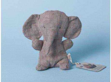 Maileg Noah's Friends Elefant grau Mini Kuscheltier Noahs Freunde 12 cm Stofftier